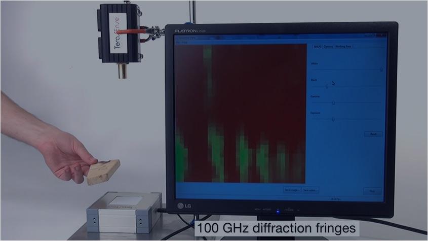 Demonstration of THz imaging