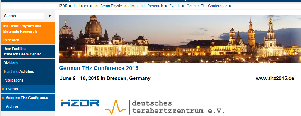 German THz Conference