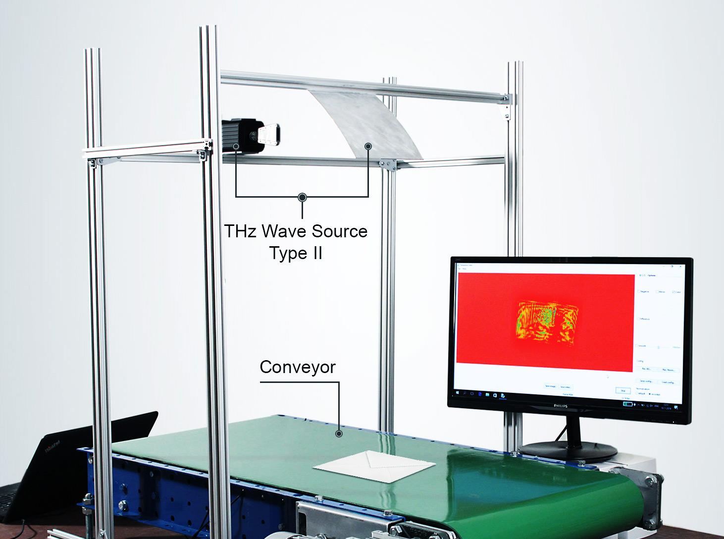 Terahertz imaging for mail and parcel screening | TeraSense