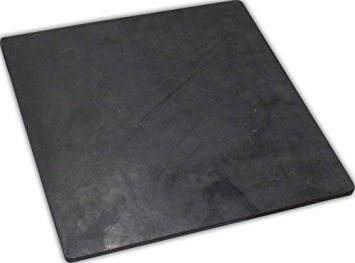 Flat rubber, 2.5 mm thick.