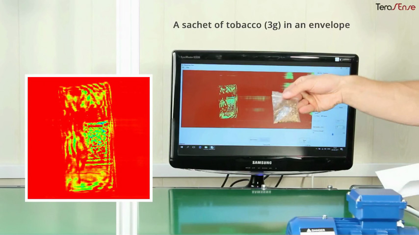 Demonstration of THz food imaging