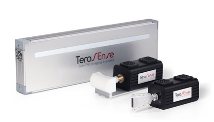 Terahertz imaging scanner 100 GHz